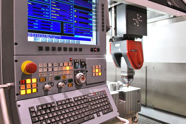 CNC e Testa Fidia
