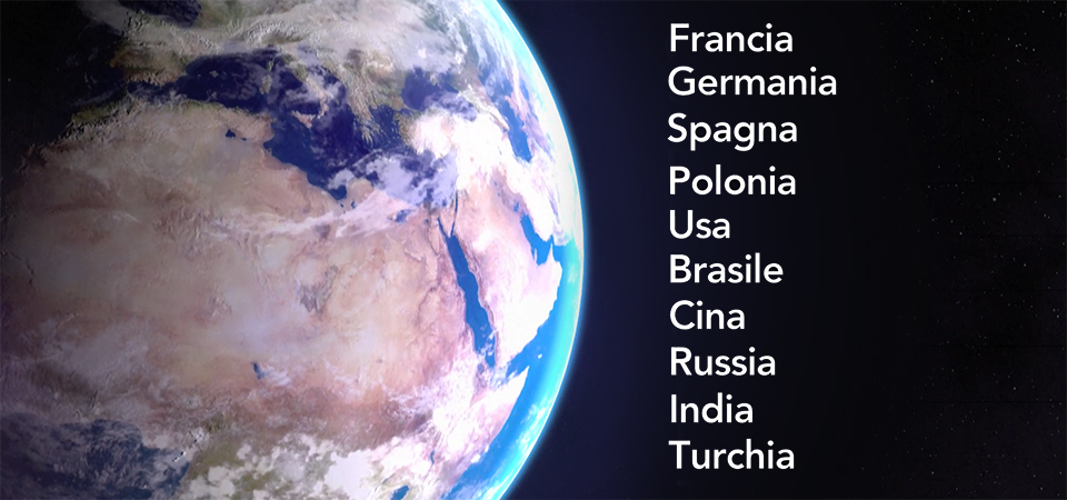 Mondo filiali Fidia