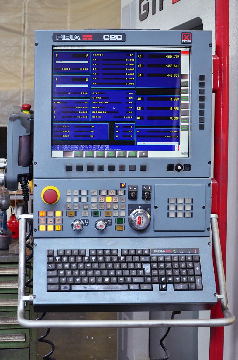 Fidia C20 numerical control