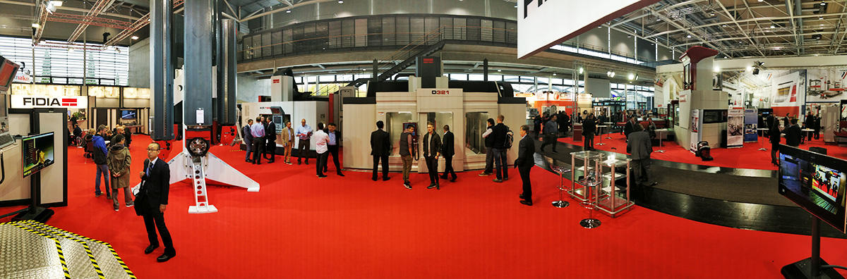 EMO 2017 Hannover - Stand Fidia