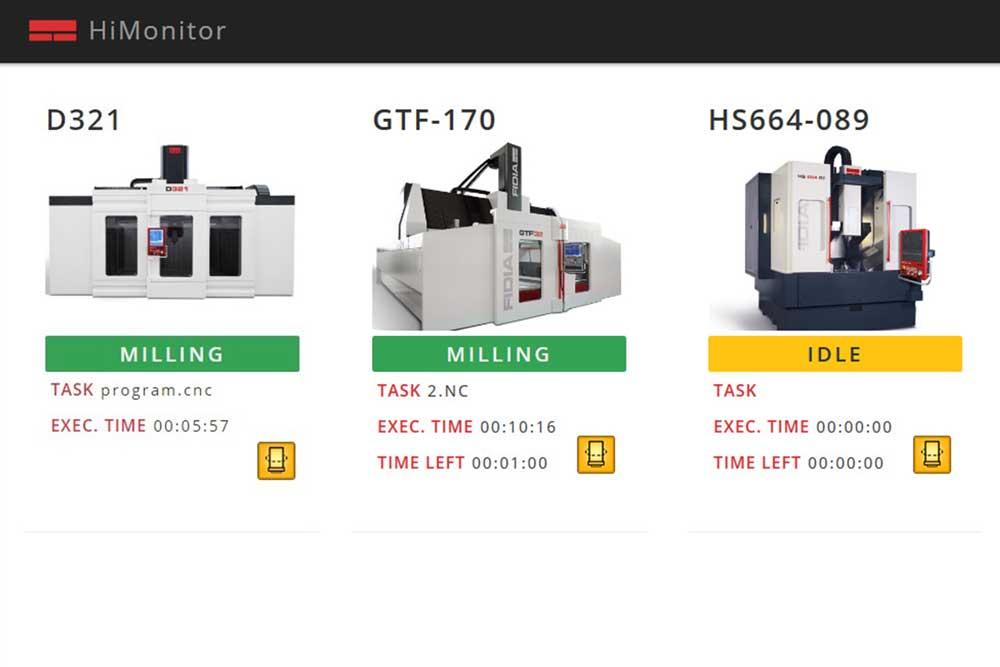 HiMonitor 2.0 Machines