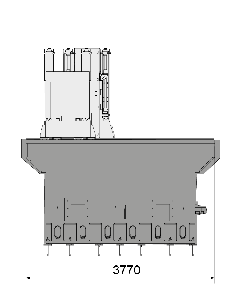 Milling machine 2-K2010_M layout 03